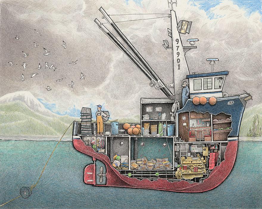 880x701 Fishing Boat Clipart Shrimp Boat