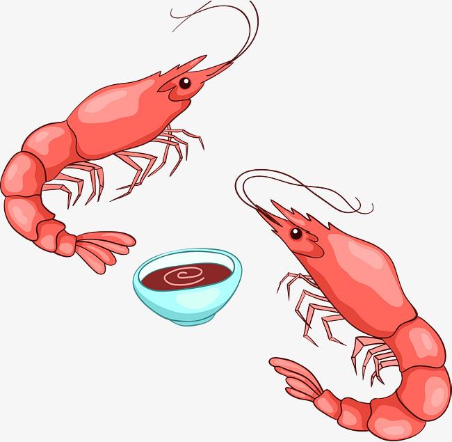 650x635 Red Shrimp Seafood Vector, Red Shrimp Seafood, Red Shrimp Vector