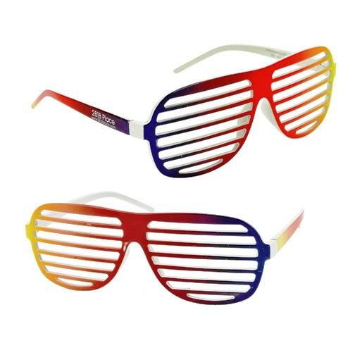 504x504 Rainbow Shutter Shades A Promotional Sunglasses Custom Printed