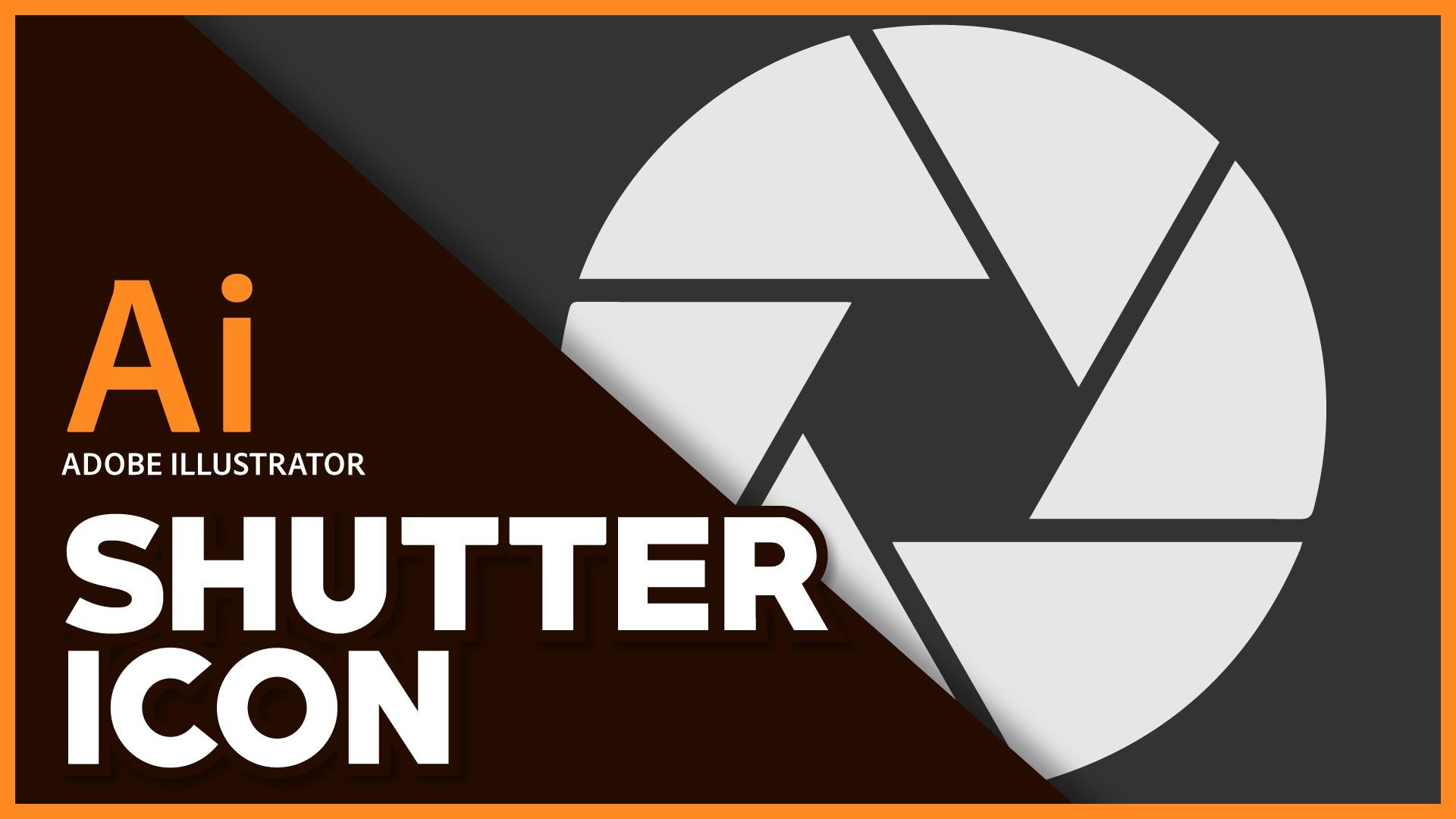 1920x1080 Adobe Illustrator Shutter Icon Tutorial