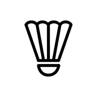 200x200 Icon Icons Shuttlecock Badminton Feather Feathers Sports Sport