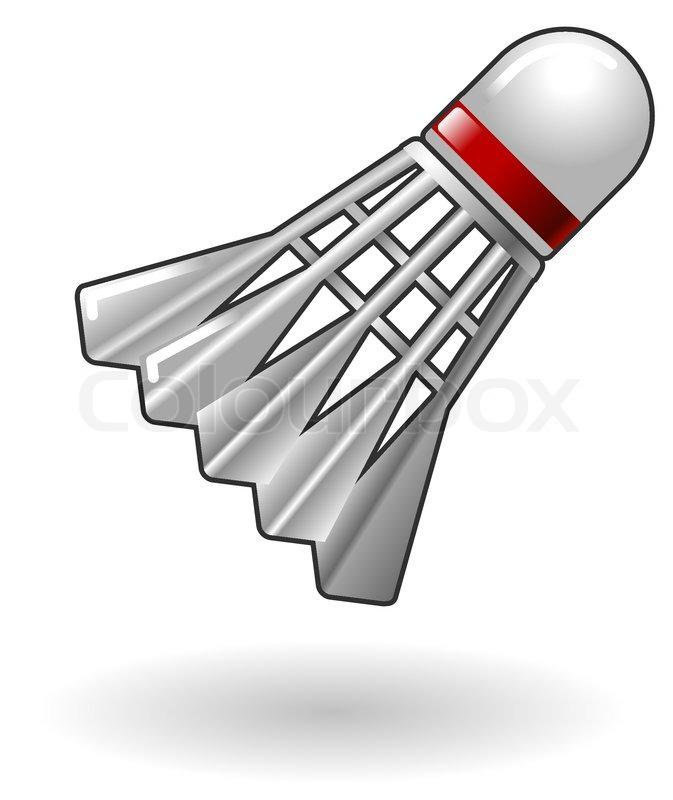 673x800 Illustration Of Badminton Shuttlecock Stock Vector Colourbox