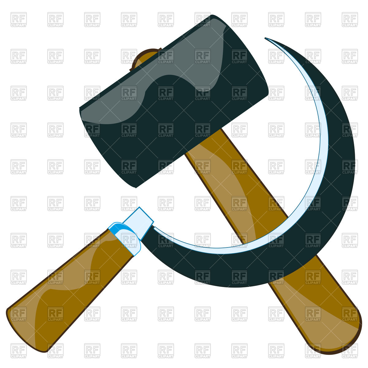 1200x1200 Hammer And Sickle Vector Image Vector Artwork Of Icons And