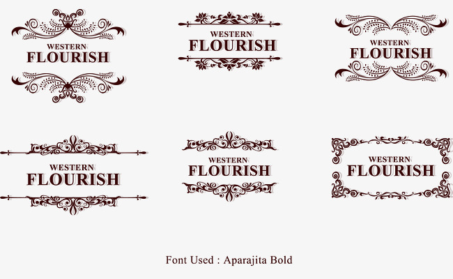 650x400 Border Sign Font Whirlpool, Border Vector, Sign Vector, Boundary