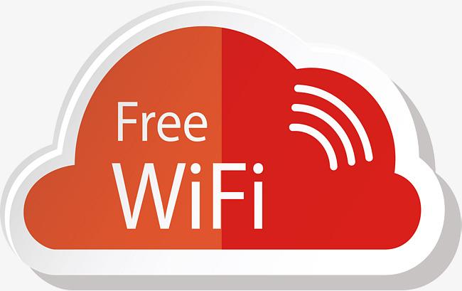 650x409 Orange Cloud Free Network Signal, Vector Png, Internet Signal