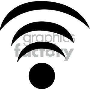 300x300 Royalty Free Wifi Wireless Signal Vector Flat Icon 405788 Icon