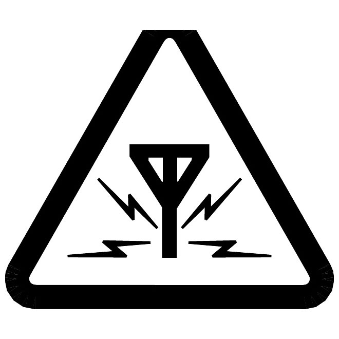 660x660 Signal Interference Vector Symbol