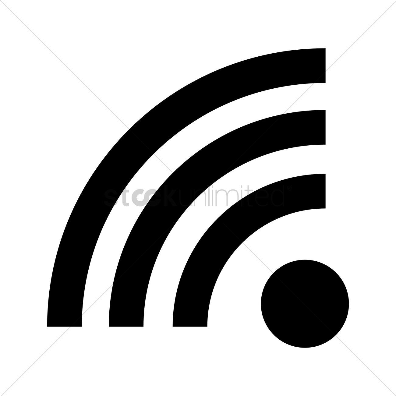 1300x1300 Wifi Signal Vector Image