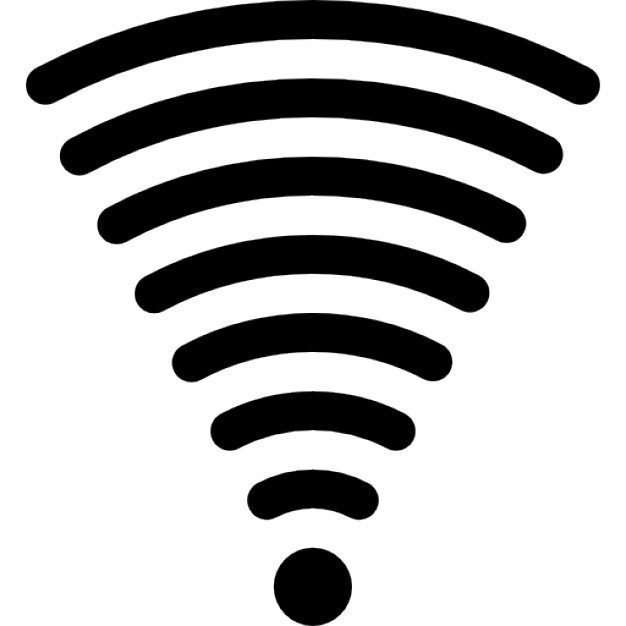 626x626 Wifi Signal Of Full Strength Connection Icons Free Download