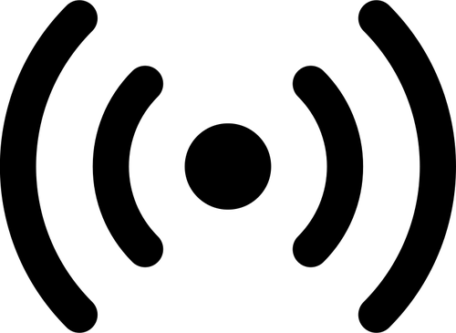 500x365 Audio Signal Vector Silhouette Public Domain Vectors
