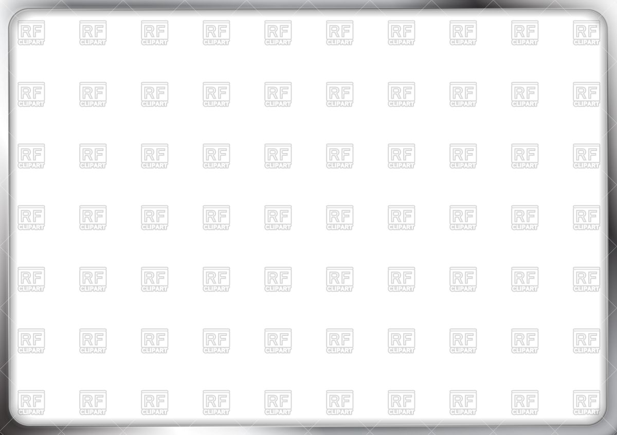 1200x847 Rectangular Metallic Silver Frame Vector Image Vector Artwork Of