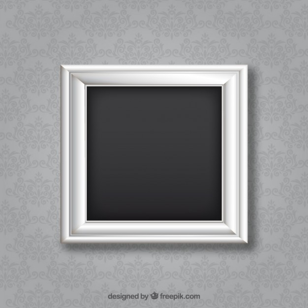 626x626 Silver Frame Vector Free Download