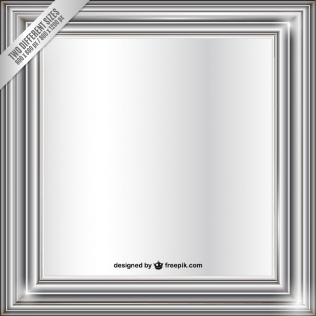 626x626 Metallic Frame Vector Free Download