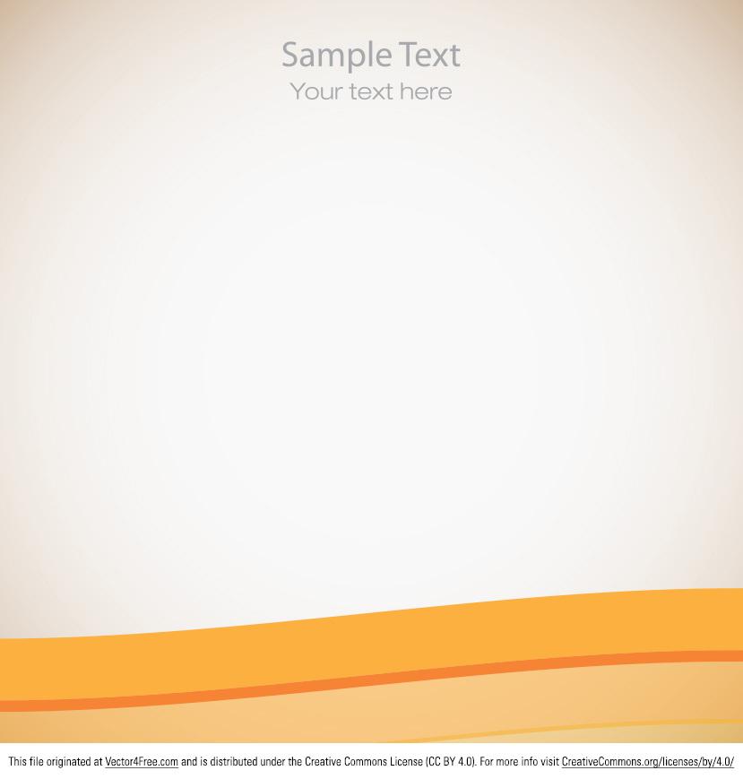 829x869 Free Simple Orange Vector Background