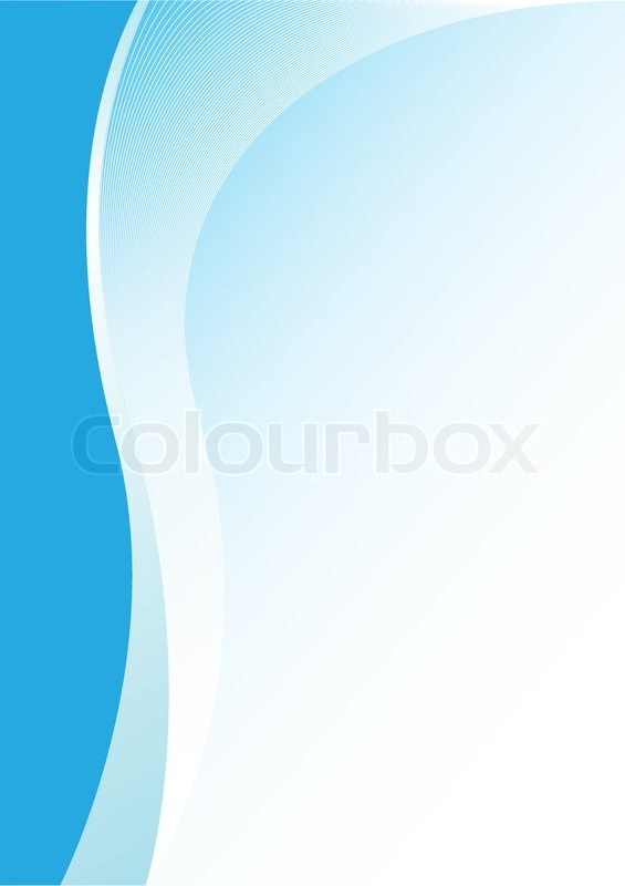 565x800 Simple Abstract Blue Vertical Background For Design Stock Vector