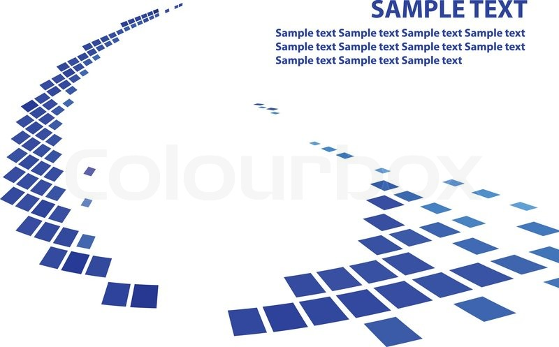 800x497 Simple Background With Blue Squares Stock Vector Colourbox