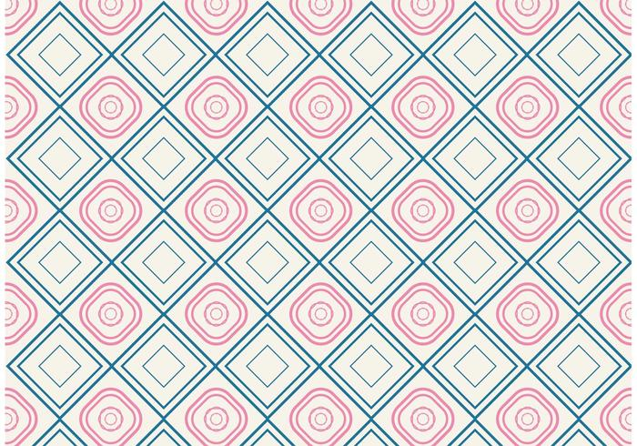 700x490 Decorative Background Vector With Simple Shapes