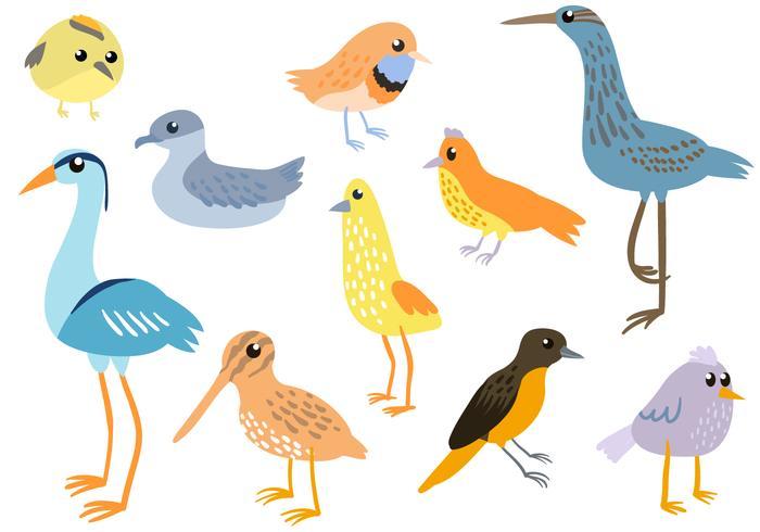 700x490 Free Simple Birds Vectors