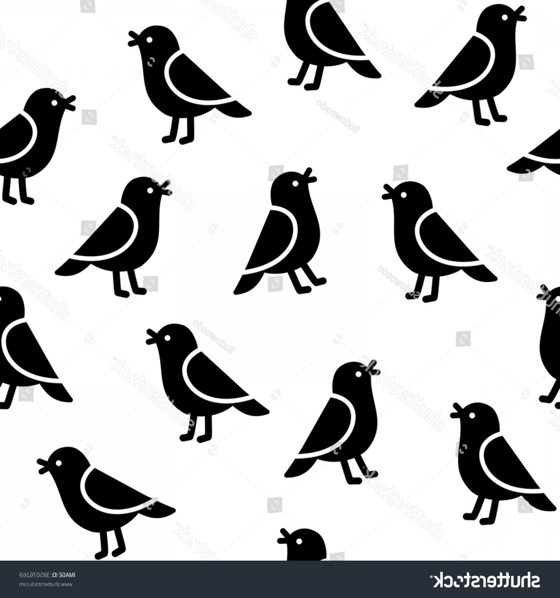 1800x1920 Seamless Birds Pattern Simple Cartoon Vector Shopatcloth