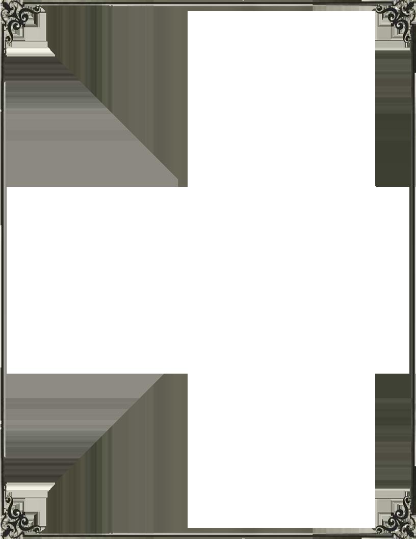 816x1056 Vector Frame