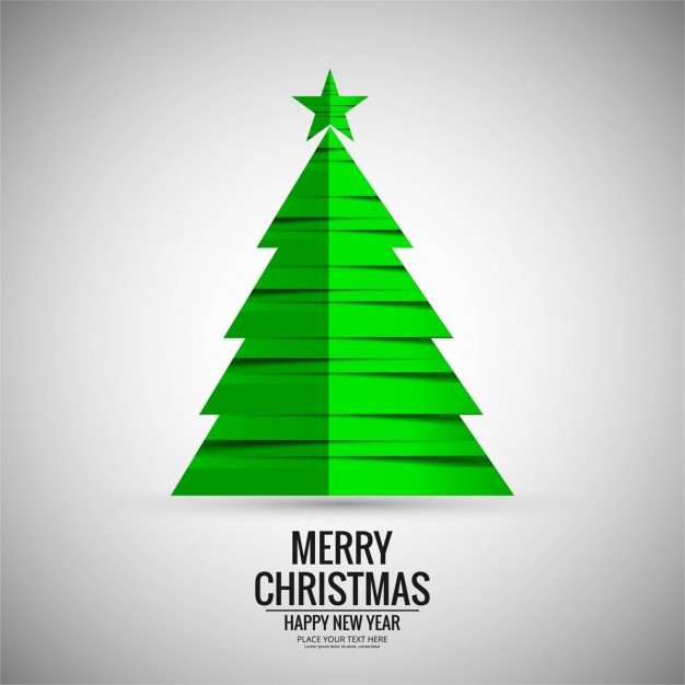626x626 Simple Background, Christmas Tree Vector Free Download
