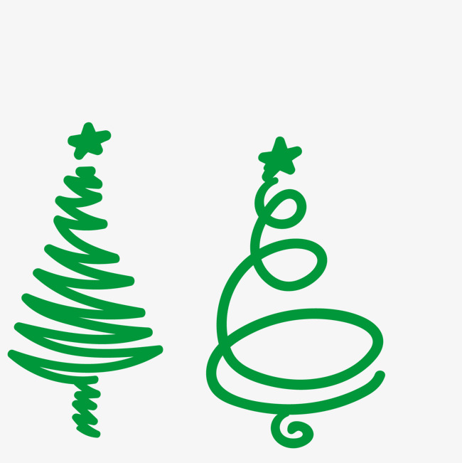 650x651 Cartoon Christmas Tree Vector, Hand Painted Christmas Tree, Simple