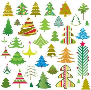 371x368 Simple Christmas Tree Free Vector Download (12,094 Free Vector