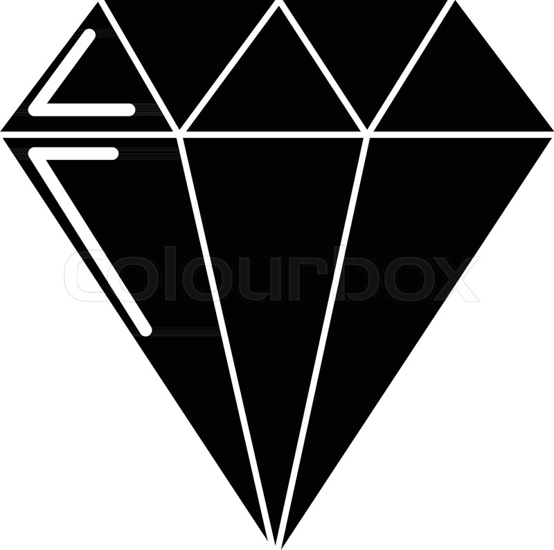 800x794 Diamond Icon . Simple Illustration Of Diamond Vector Icon For Web