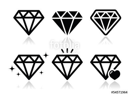 500x366 Free Diamond Icon Vector 425124 Download Diamond Icon Vector