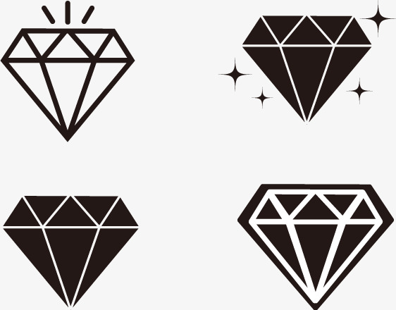 562x440 Simple Lines Vector Diamond, Diamond, Jewelry, Gem Png And Vector