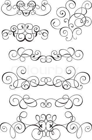 315x480 Simple Filigree Scroll Designs Filigree Design Karenas Room