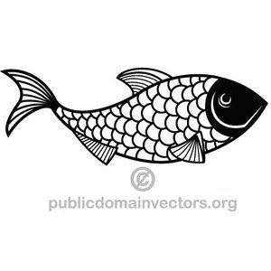 Simple Fish Vector