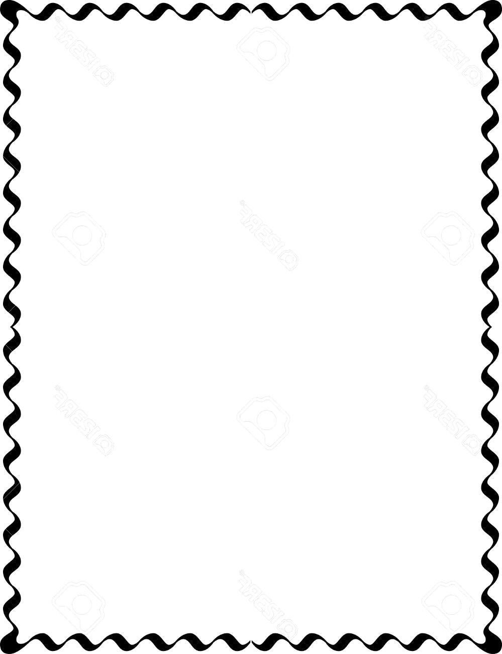 999x1300 Simple Lines Border Frame Vector Design Monochrome 11 Designs
