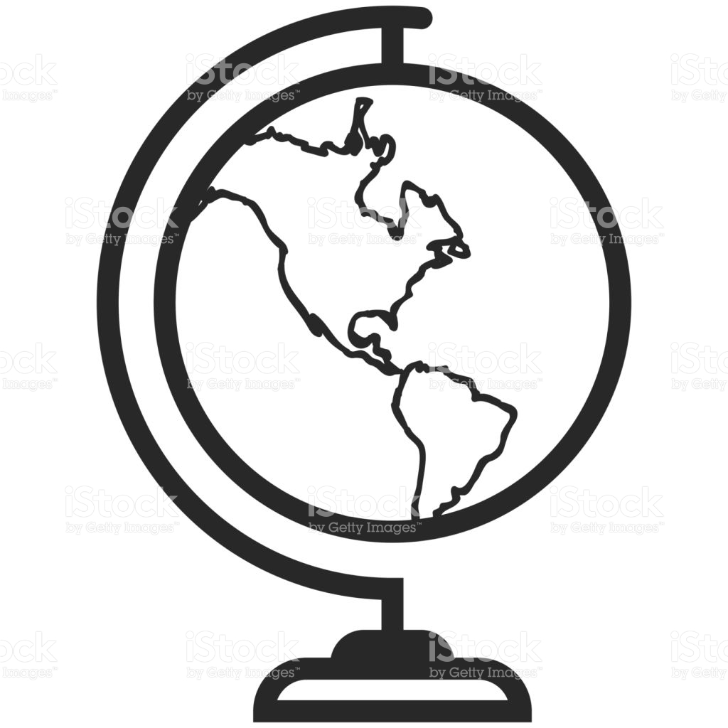 1024x1024 Collection Of Simple Globe Drawing High Quality, Free