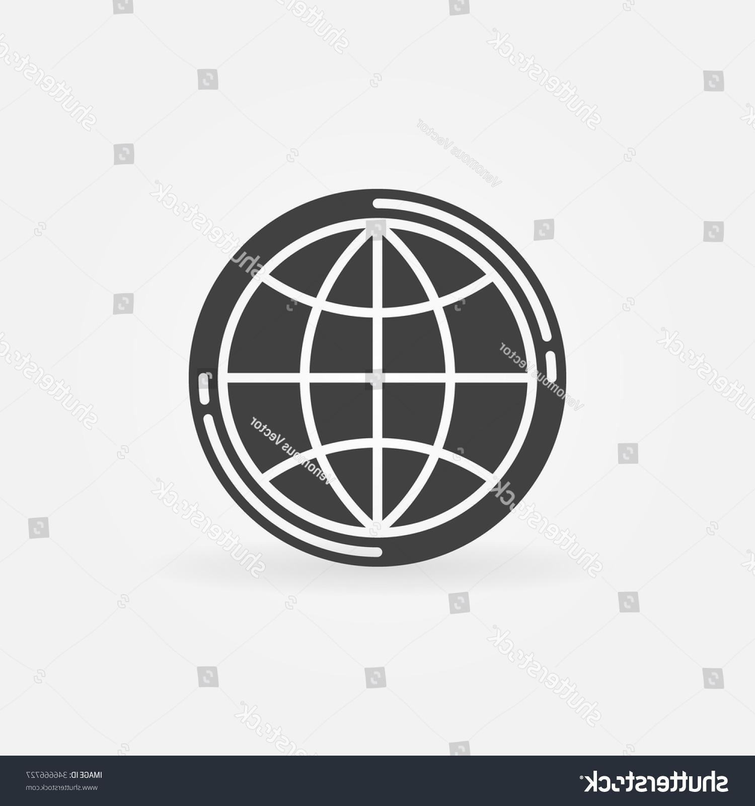 1500x1600 Stock Vector Earth Globe Icon Simple Symbol Or Logo Element