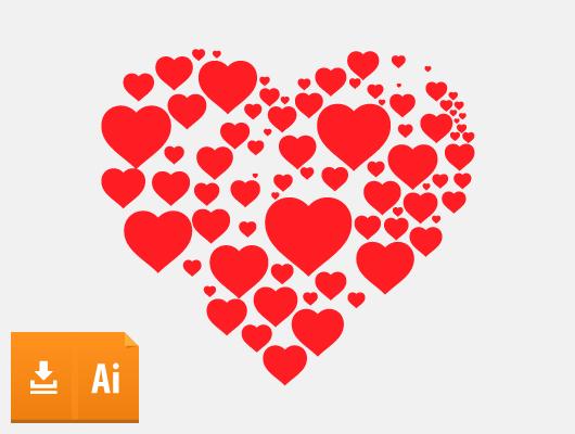 Simple Heart Vector