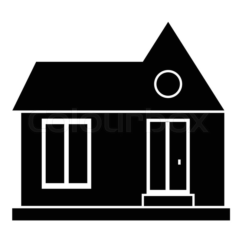 800x800 Private House Icon. Simple Illustration Of House Vector Icon For