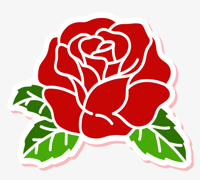 650x585 A Red Rose, Rose Vector, Rose Clipart, Simple Rose Png And Vector