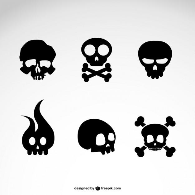 Simple Skull Vector