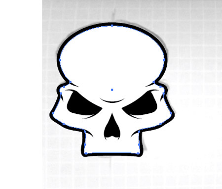 450x382 How To Create A Stylish Skull Based Vector Illustration