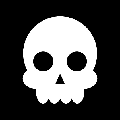 422x422 Simple Vector Skull Nothing Else To Say. Simple. Nice Hot
