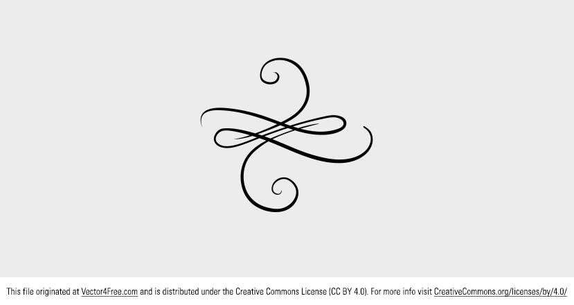 829x440 Free Vector Swirly Ornament