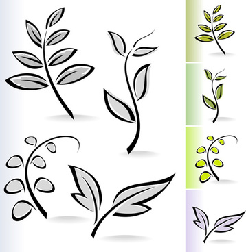 358x368 Free Simple Leaf Swirl Vector Free Vector Download (8,784 Free
