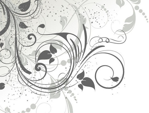 486x368 Free Vector Floral Swirls Download Free Vector Download (9,729