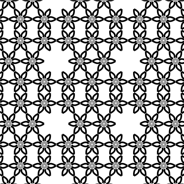 600x600 Free Simple Vector Flower Pattern Design Psd Files, Vectors