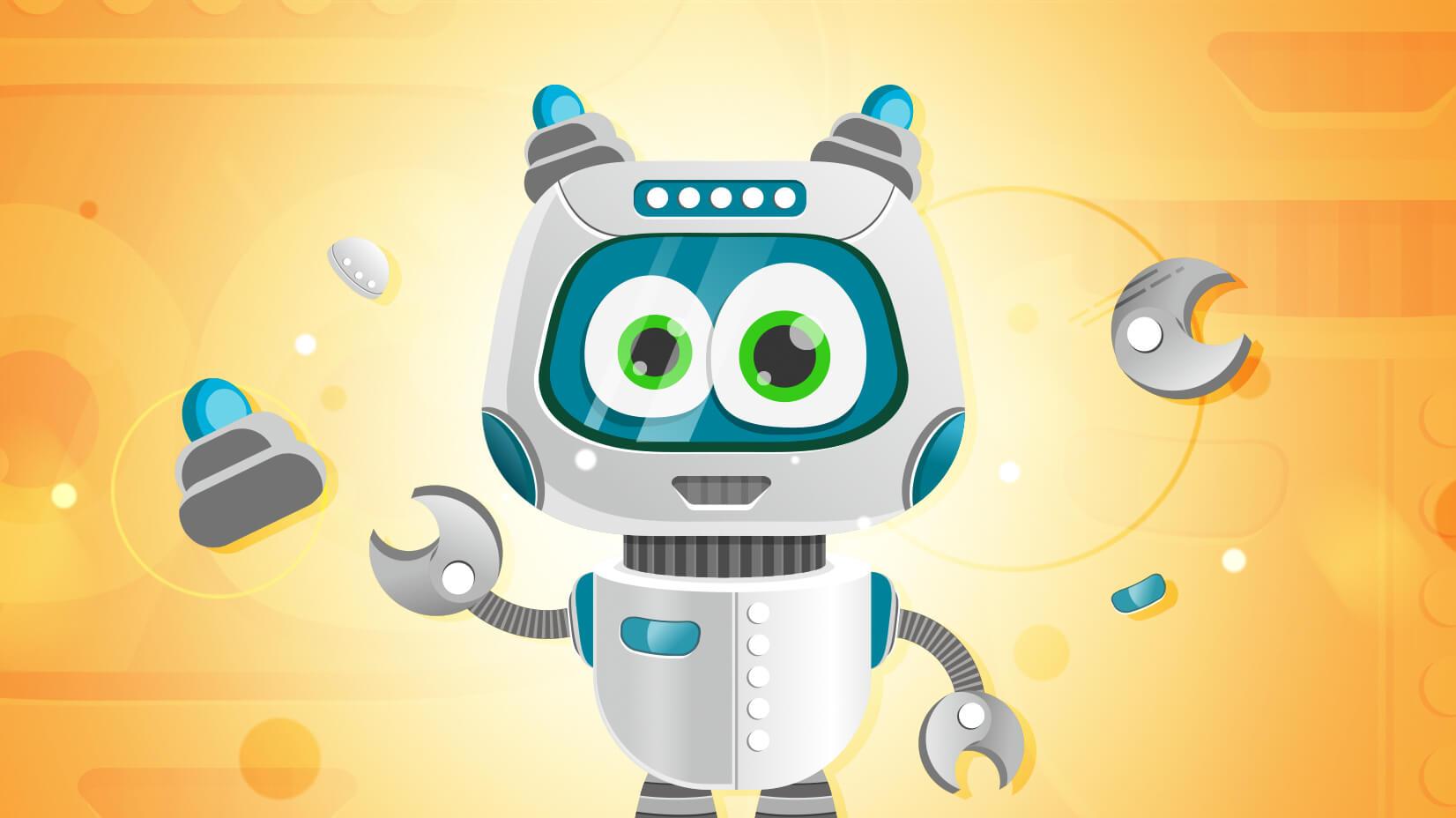 1652x928 Simple Vector Robot Character In Illustrator (Tutorial + Freebie)