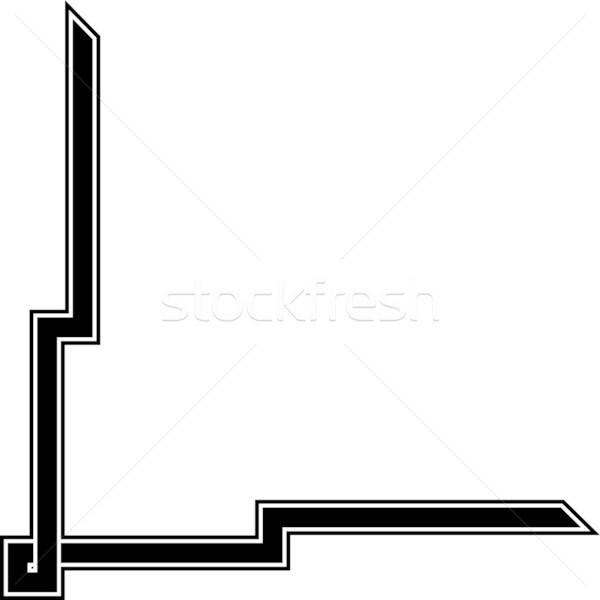 600x600 Simple Vector Corner Design Vector Illustration Mr Vector