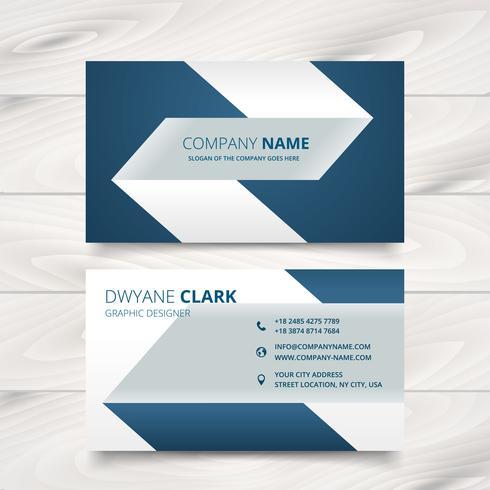 490x490 Creative Simple Business Card Vector Design
