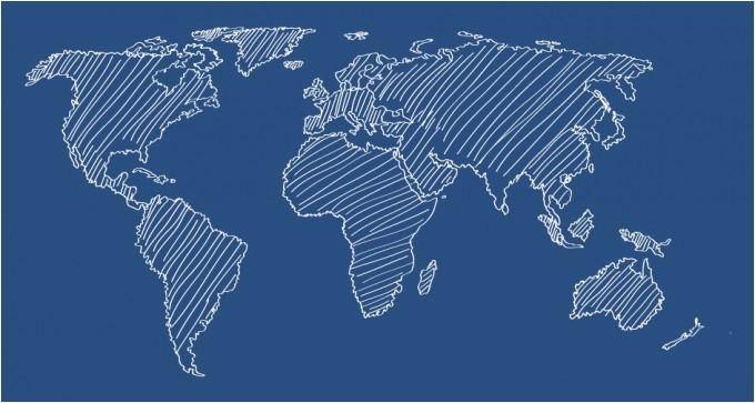 680x363 Simple World Map Vector Lovely Vector World Map Best World Map