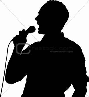 311x340 Image 2976497 Male Singer Vector From Crestock Stock Photos